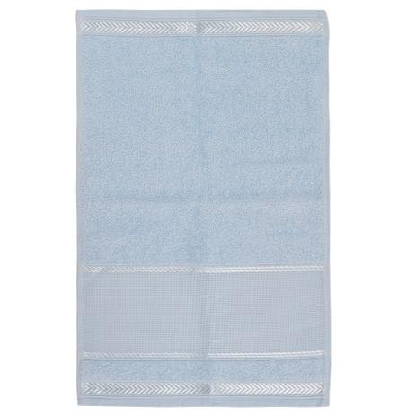 2db335f9dd Toalha de Lavabo Para Bordar Sabrine - Azul - Karsten - Toalha de ...