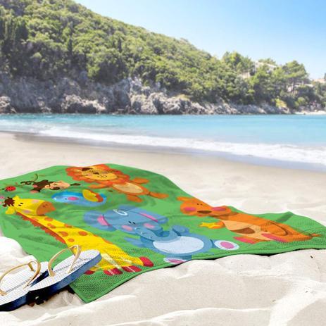 20694d32b3 Toalha de Praia   Banho Safari Baby - Love decor - Toalha de Banho ...