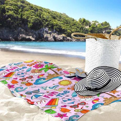 36c090d3a Toalha de Praia   Banho Summer - Love decor - Toalha de Banho ...