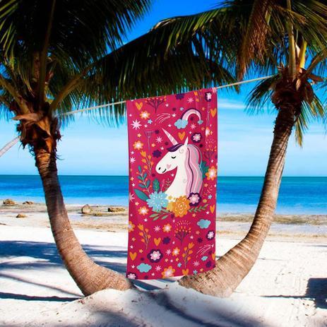 51381ef67 Toalha de Praia Velour Unicórnio - Dohler - Jogo de Toalhas   Jogo ...
