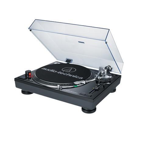 Toca Disco Audio Technica LP120 USB Bivolt Preto AT-LP120BK-USB - Audio -technica 93bc8de6955