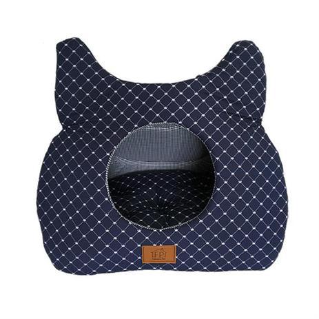 Imagem de Toca Para Gato Azul Marinho Fábrica Pet
