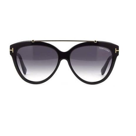 cfd846b0a Tom Ford Livia 518 01B - Óculos de Sol Preto 14 - Óculos de Sol ...