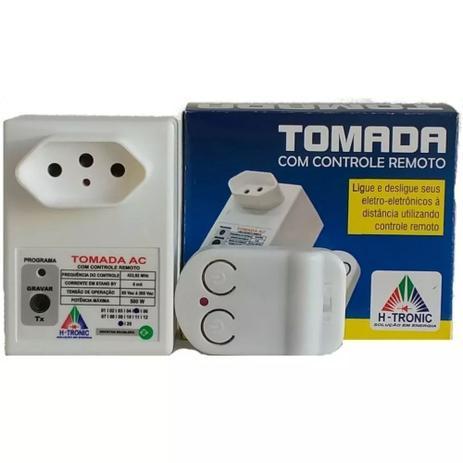 Imagem de Tomada Com Controle Remoto Liga E Desliga A Distancia 500w Bivolt Lampadas Televisores Fechaduras Ventiladores