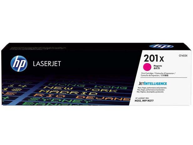 Imagem de Toner HP Magenta 201X LaserJet