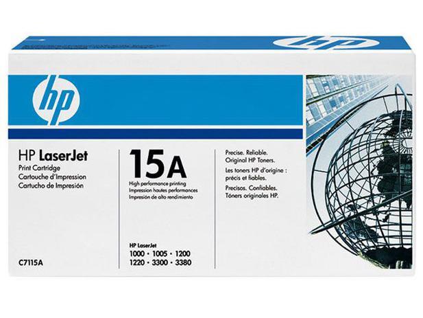 Toner HP Preto 15A LaserJet - Original