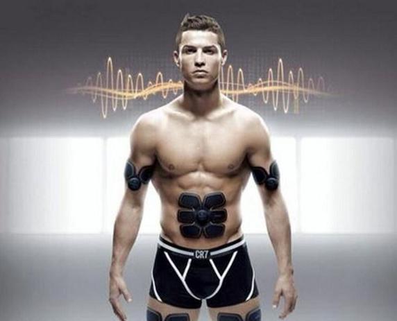 Imagem de Tonificador Aparelho Abdominal Muscular Cristiano Ronaldo