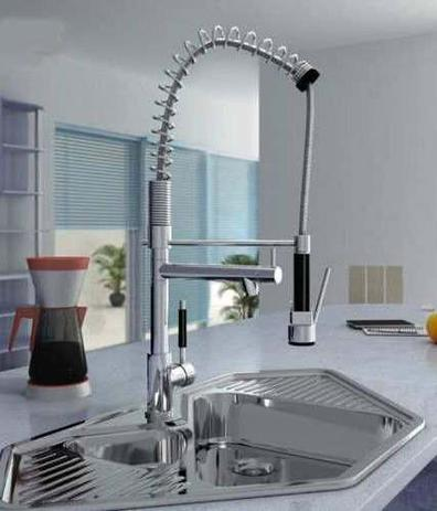Imagem de Torneira Gourmet Misturador Monocomando 70 cm Alta Com Ducha