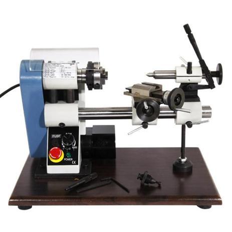 Imagem de Torno Mecânico Micro 100 MM MR-NANO 220V Mono MANROD