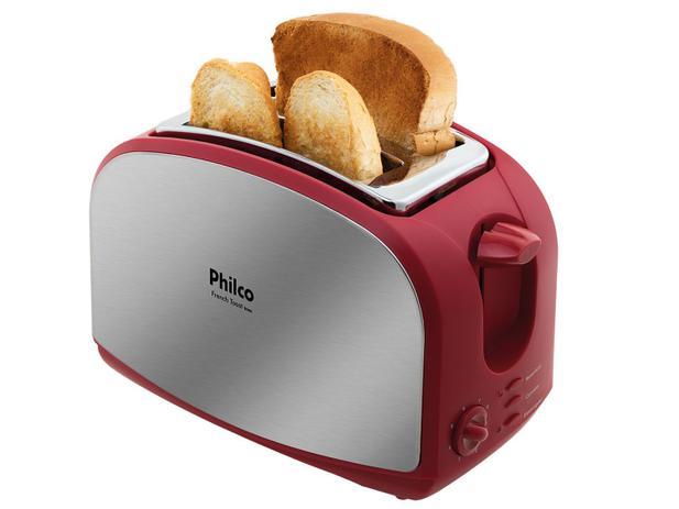 Imagem de Torradeira Philco Vermelha French Toast