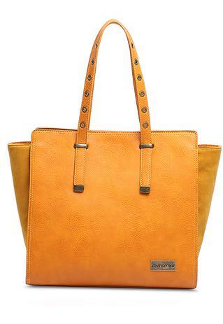 dd0dc2c2c Tote bag feminina mormaii mostarda - Bolsas e acessórios - Magazine ...