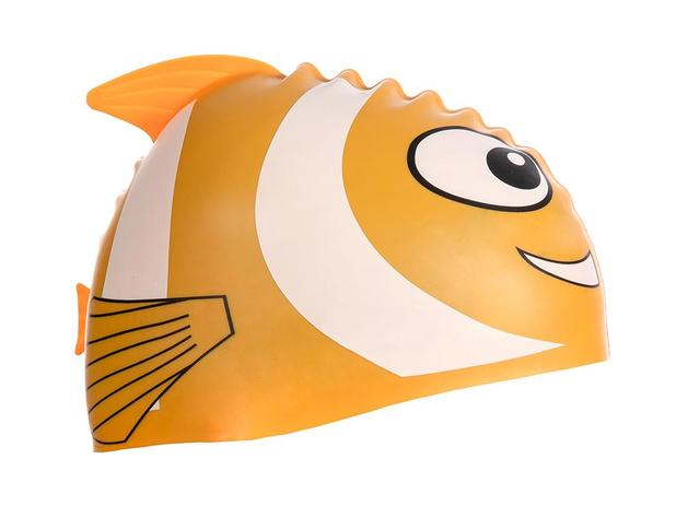 Touca de natação silicone infantil cetus - Touca de Natação ... f0c935bca6e