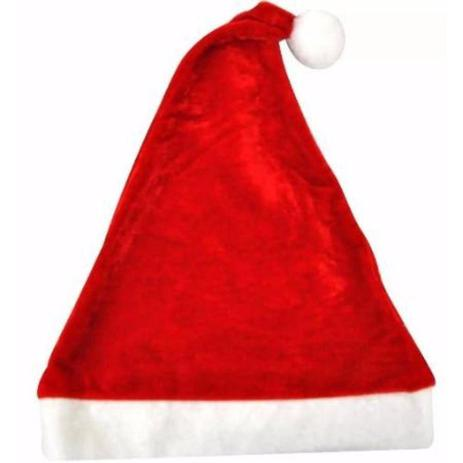 Touca Gorro de Natal Papai Noel Tamanho Único - Mz - Gorro Decoração ... 3b3553ac3a9