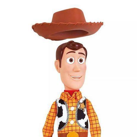 7ab8589b9e3c5 Toy Story Woody Boneco Xerife - Toyng - Bonecos - Magazine Luiza