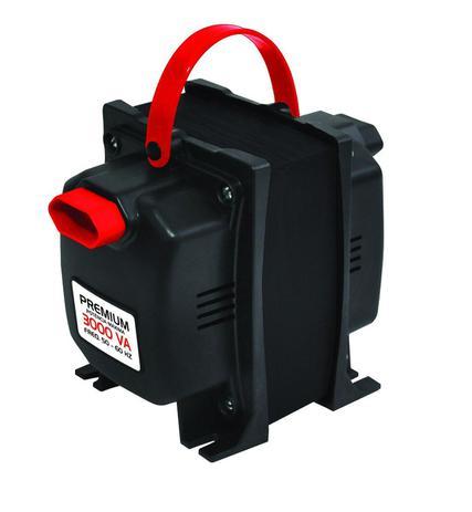 Imagem de Transformador Fiolux Premium Tripolar 3000VA Bivolt 110/220 e 220/110 Ref: 3000 VA