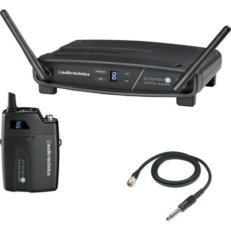 Imagem de Transmissor sem Fio Digital AUDIO TECHNICA ATW-1101/G System 10 para Guitarra