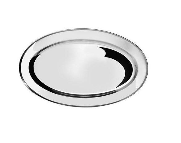 Imagem de Travessa oval em inox 30x20cm