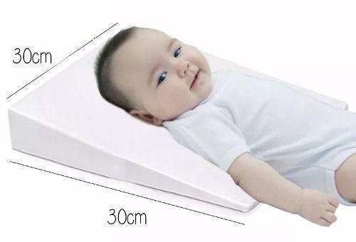 Imagem de Travesseiro Almofada Anti Refluxo Carrinho Bebê Grávida