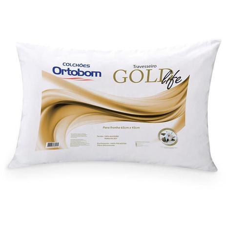 Imagem de Travesseiro Gold Life - Ortobom