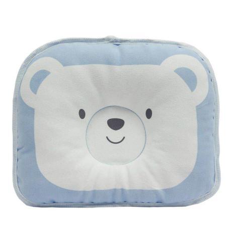 Imagem de Travesseiro para Bebe Urso Azul - Buba