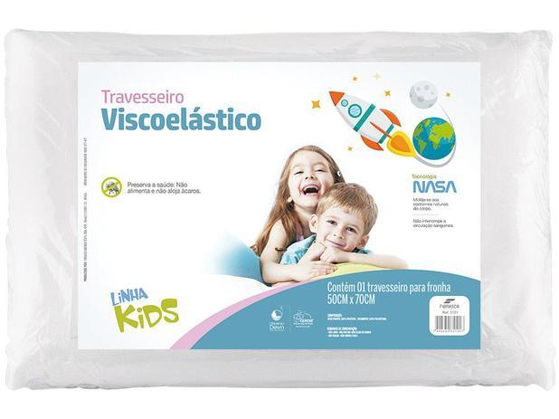 Travesseiro Visco Kids 50 x 70 cm - Fibrasca