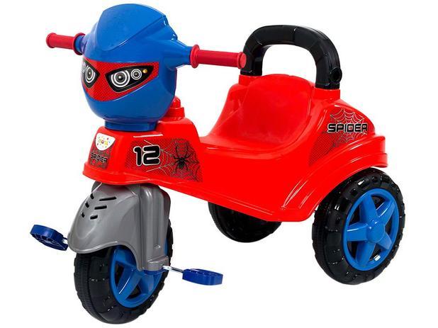 Imagem de Triciclo Infantil Baby City Spider com Empurrador