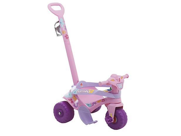 Imagem de Triciclo Infantil Bandeirante com Empurrador