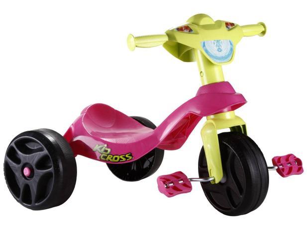 Triciclo Infantil Bandeirante  - Kid Cross