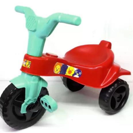 Imagem de Triciclo Infantil Motoca Velotrol Tico Tico Vermelho Omotcha 103