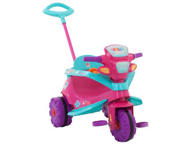 Imagem de Triciclo Infantil Velo Baby com Empurrador