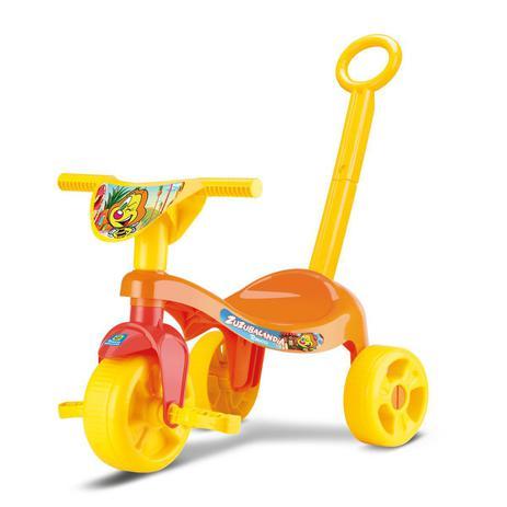 Imagem de Triciclo Pedal Velotrol Tchuco Velocípede Até 20kg Samba Toy