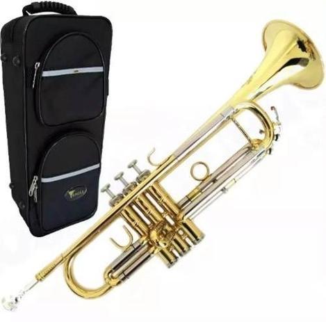 Imagem de Trompete Eagle Laqueado Tr504