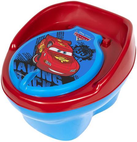 Imagem de Troninho Pinico Infantil Bebê Carros Disney Azul Styll Baby
