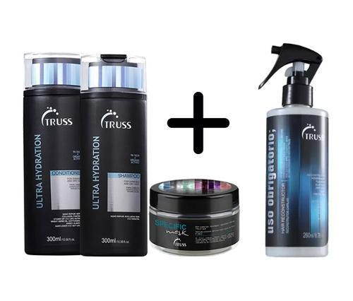 Imagem de Truss Shampoo + Cond Ultra-hidratante+ Masc+ Uso Obrigatório