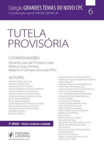 Imagem de Tutela provisoria - grandes temas do novo cpc