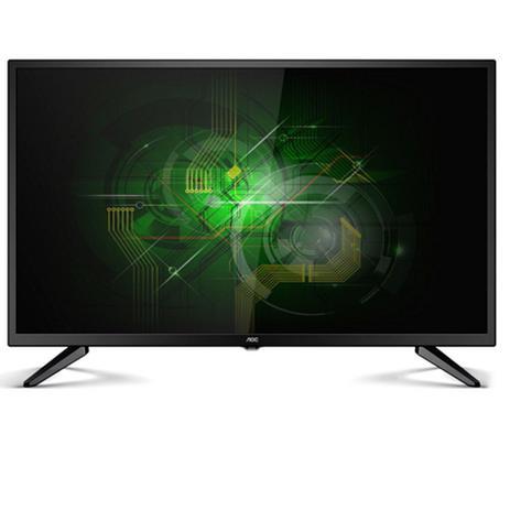 00a48a628 TV LED AOC 32 Polegadas HD Conversor Digital Entrada USB HDMI LE32M1475 -  Aoc linha marrom