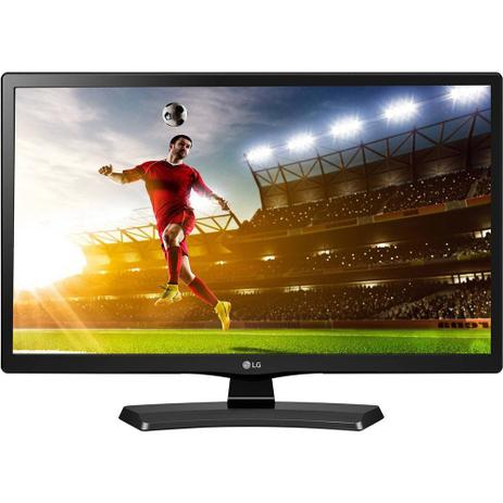 Imagem de TV LED LG HD 19,5 pol 20MT49DF-PS Conversor Digital 1 HDMI 1 USB 60Hz Time Machine Ready Preta