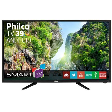 "5fd24f5d3d437 TV Philco Led Android 39"" PTV39N92DSGWA - Smart TV - Magazine Luiza"