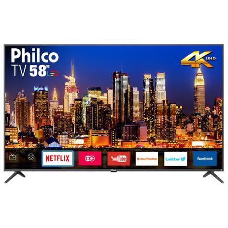 Imagem de TV Philco Smart 4K Led 58