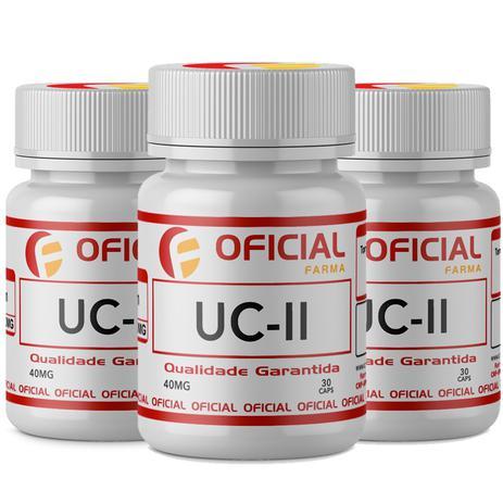 Imagem de Uc II (Colágeno Tipo 2) 40Mg 90 Cápsulas Com Selo de Autenticidade