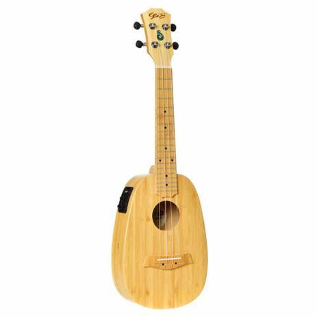 Imagem de Ukulele Elétrico Seizi Bali Pineapple Concert Solid Bamboo com Bag