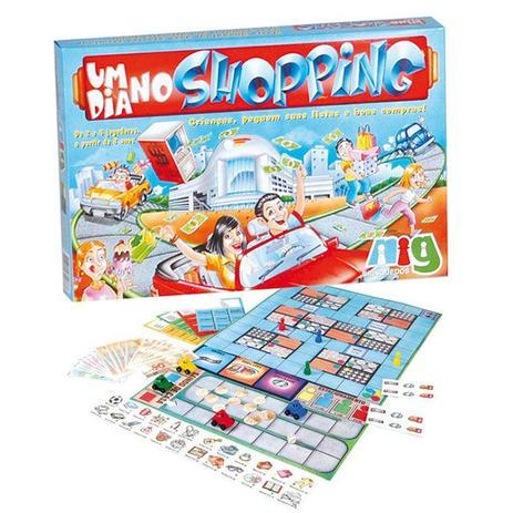 5a91cc49bc Um dia no Shopping - NIG - Nig brinquedos - Jogos de Tabuleiro ...