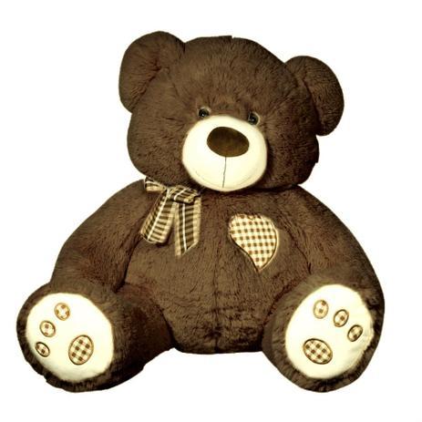 Urso de Pelúcia BIG LOVE G 54 cm BABY BRINK 2187 - Pelúcia ... 59cb564c3e875