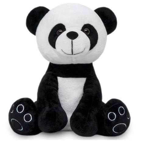 Imagem de Urso de Pelúcia Panda Antialérgico Baby e Decoração Pandinha bebê de 25cm