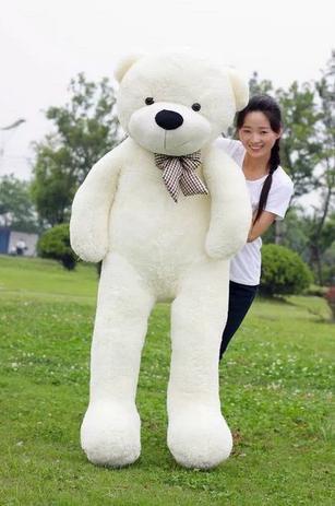 156a2dd2e Urso Gigante De Pelucia Teddy Bear Gigante 2 Metros 200 cm Cheio - Ursos e  pelucias