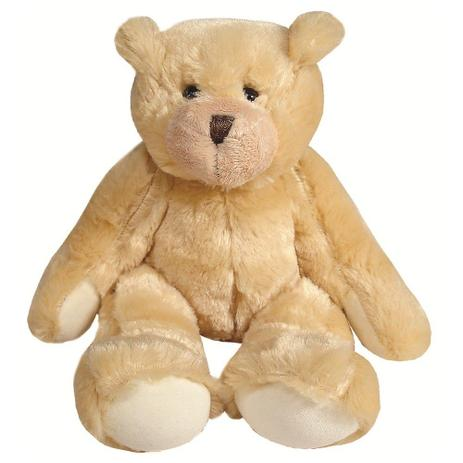 e27d9bc2e Urso Pelúcia Grande Sentado Palha e Bege - Mury baby - Pelúcia ...