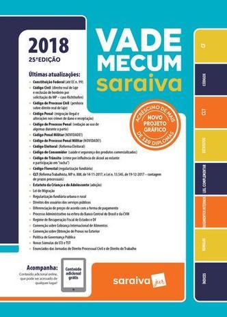 Imagem de Vade Mecum Saraiva 2018