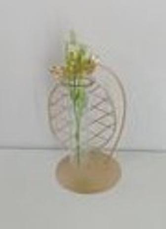 Imagem de vasinho de vidro com suporte