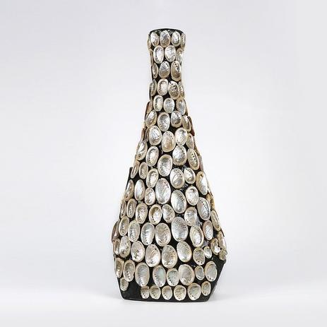Imagem de Vaso Decorativo 60cm De Papel Machê Carpi Shell Prestige - R2996