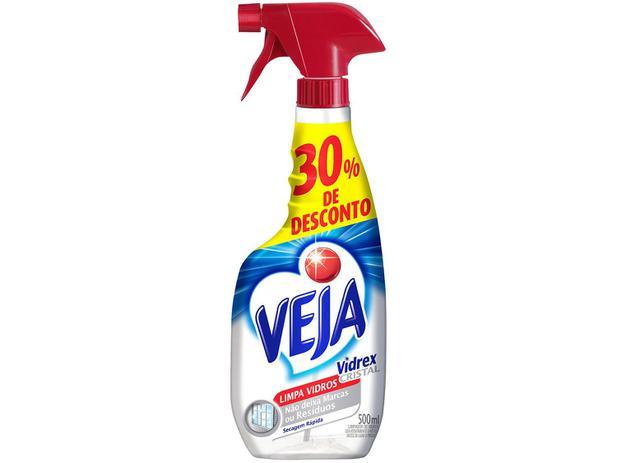 Imagem de Veja Vidrex Cristal - Limpa Vidros Pulverizador